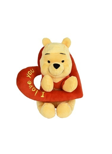 Disney WTP Temalı - Pooh Kalp Halkalı 25cm-Disney